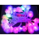 grossiste Chaines de lumieres: Noël Snowball LED  lumières de Noël 3,8m avec 30