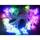 grossiste Chaines de lumieres: Bell de Noël LED  Lumières de Noël 3,8m avec LED 30
