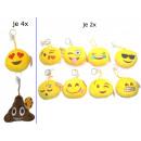 Smiley Keychain Emoticon with sucker