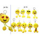 Großhandel Geschenkartikel & Papeterie: Smiley  Schlüsselanhänger  Emoticon mit ...