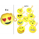 grossiste Electronique de divertissement: Smiley Sacs  émoticône  Mix , 9.5cm