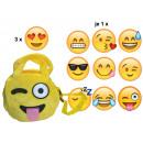 Großhandel sonstige Taschen: Smiley Täschchen Emoticon Mix , 18cm
