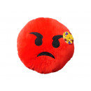 wholesale Cushions & Blankets: Smiley Pillows Emoticon angry , 35cm