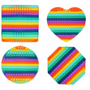 wholesale Toys: Antistress Magic POP IT Rainbow 30cm
