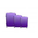 Reisekoffer 3er 941 lila