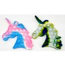 wholesale Drugstore & Beauty: Antistress POP IT unicorn Camouflage Pink / green
