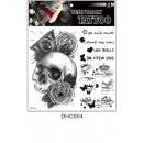 grossiste Piercing / Tatouage:Tatouage jetable étanche