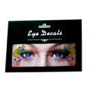 Eye Shadow disposable tattoo with glitter
