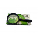 Hand magnifier 6cm with 3 magnifications