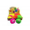 grossiste Jouets: LED tampon boule  Knautschball eyed ca 13cm
