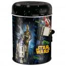 grossiste Epargner boite: Star Wars tirelire métalliques