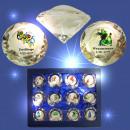 grossiste Articles Cadeaux: verre de cristal 3D, Zodiac