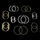 wholesale Earrings: Earrings Hoops Gold Plated Earrings and ...