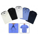 wholesale Shirts & Blouses: Business Men Men Short Sleeve Shirts Plaid