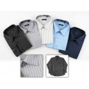 wholesale Shirts & Blouses: Long Sleeve Shirts Business 100% cotton Striped