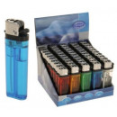 grossiste Briquets: Einwegfeuerzeuge  Transparent Briquet 50s displ