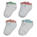 Großhandel Strümpfe & Socken: Damen Söckchen Füßlinge Sneaker Socken Baumwolle