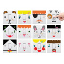 Light switch Face Sticker Set
