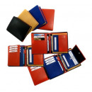 Leather wallets range - Multicolour