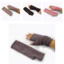 wholesale Gloves: Ladies Fingerless gloves in 4 colors