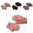 wholesale Gloves: Gloves with hood in 4 color