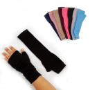wholesale Gloves: Ladies Fingerless gloves in 8 colors