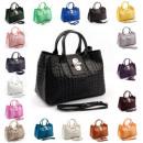 Großhandel Taschen & Reiseartikel: Made in Italy -Echtleder  Handtasche mit ...