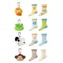 Children set SOXO  two pairs of socks + pendant
