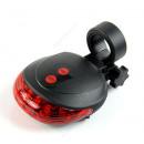 Großhandel Fahrräder & Zubehör: LED-Lampe für das hintere Fahrrad + Laser