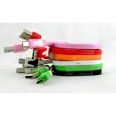 hurtownia Komputer & telekomunikacja: Kabel micro USB ładowarka płaski kabel 1m