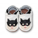 wholesale Shoes: Leather slippers  with soft soles - superhero