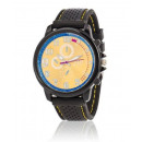 YELLOW MAN WATCH silicone strap