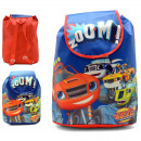 BACKPACK WITH FLAP AND HANDLES Blaze