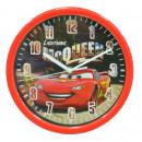 WALL CLOCK REDONDO Cars
