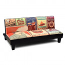 Sofa folding sofa food decoration: 160 x 86 x 7
