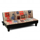 Falten Sie -out Sofadekoration Vintage - Sofa: 160