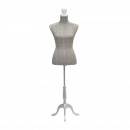 wholesale Business Equipment: Manikin with  striped white foot 37 x 40 x 164