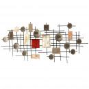 Großhandel Wandtattoos: Bafana abstrakte  Wand Modell 135 x 6 x 60