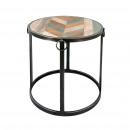 wholesale Music Instruments: High round coffee  table Model Bafana 60 x ø60