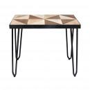 Petite table rectangulaire Bafana Modèle 64 x 34 x