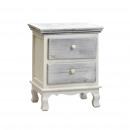Grijs klassieke meubels benen 2 lades 40 x 29 x 50
