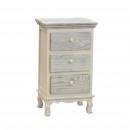 Grijs klassieke meubels benen 3 lades 40 x 29 x 65