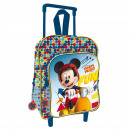 Backpack with wheels / trolley 30 cms. Mickey