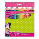 24 pcs crayons de couleur. boxed Minnie