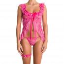 Großhandel Erotik Bekleidung:Körper Caracas Rosa