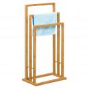Großhandel Dekoration: Toallero Bambus 3 bar 42X24X82 CM