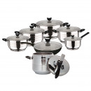 wholesale Microwave & Baking Oven: Swiss home  12-piece cookware and ex pot