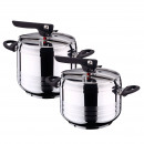 Swiss home - batch of two pressure cookers 5 and 7