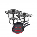 wholesale Houshold & Kitchen: San Ignacio - 5  piece cookware and game set