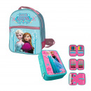 Set frozen Kids: Backpack back and plumier tri